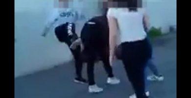 Investigan un vídeo de una pelea entre adolescentes difundido por redes sociales