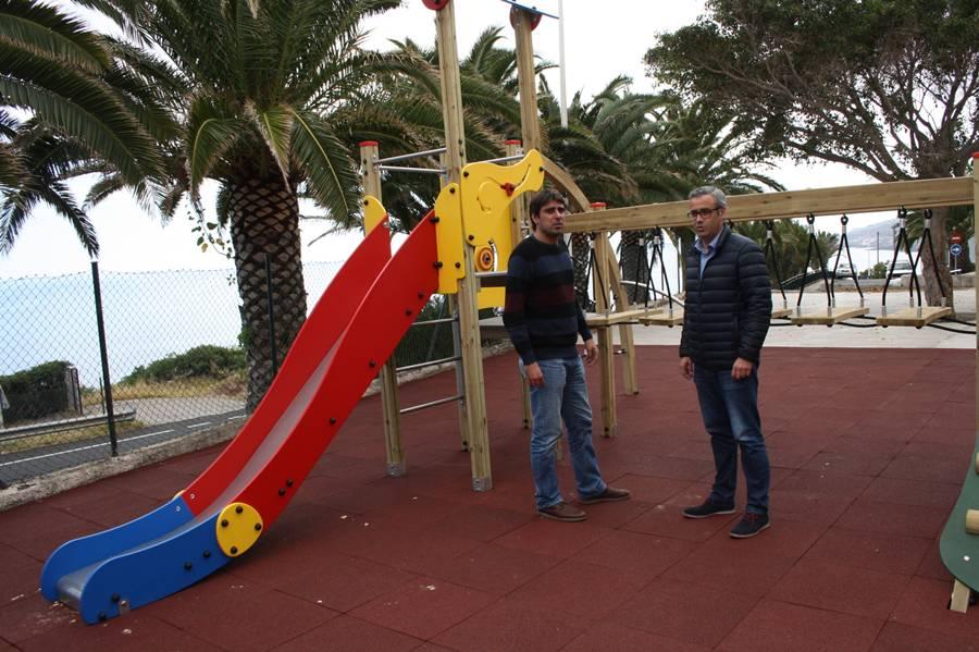 Recuperan tres parques infantiles de santa cruz de la palma - Parques infantiles en santa cruz de tenerife ...