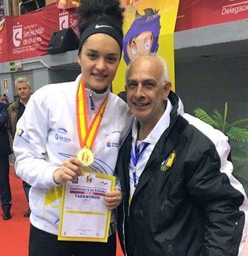 Rosanna Simón sueña con llegar a Tokio 2020 y lograr una medalla