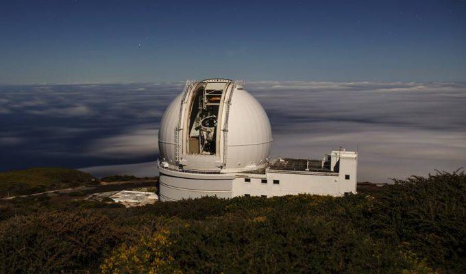 El Telescopio William Herschel contribuyó a medir el brillo de la estrella de las '7 Tierras'