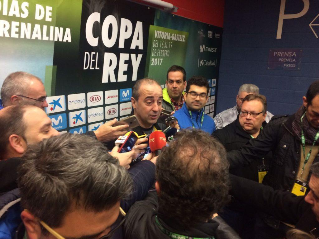 Txus Vidorreta, entrenador del Iberostar Tenerife | DA