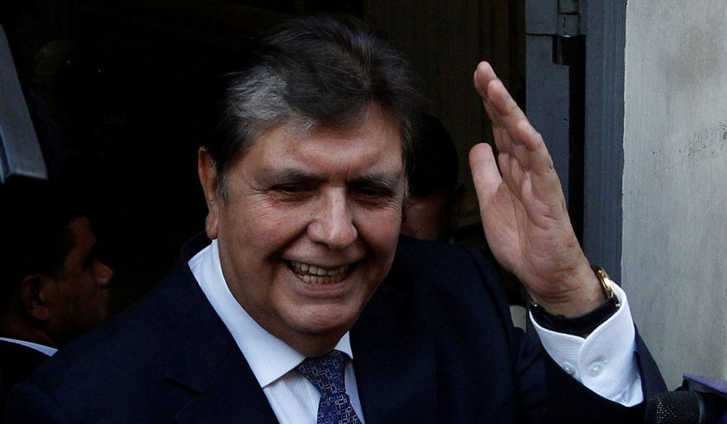 El expresidente peruano Álan García