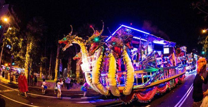 La carroza musical El Merengazo cumple 34 años en el Carnaval chicharrero