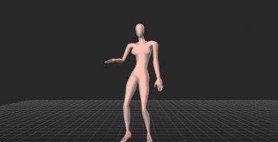 Científicos determinan el modelo ideal de baile femenino
