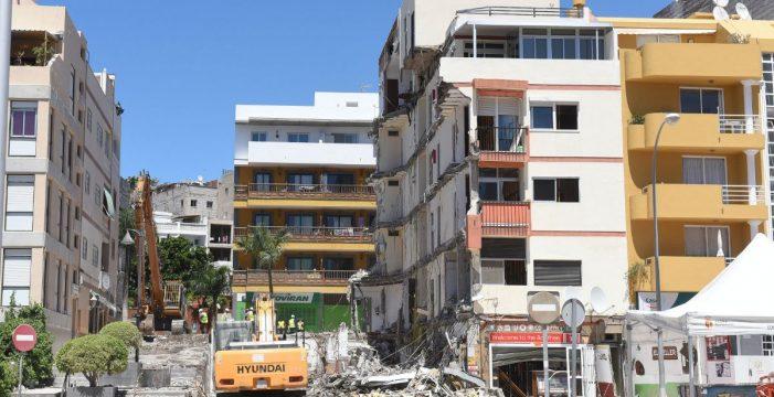 Las claves del derrumbe del edificio en Los Cristianos