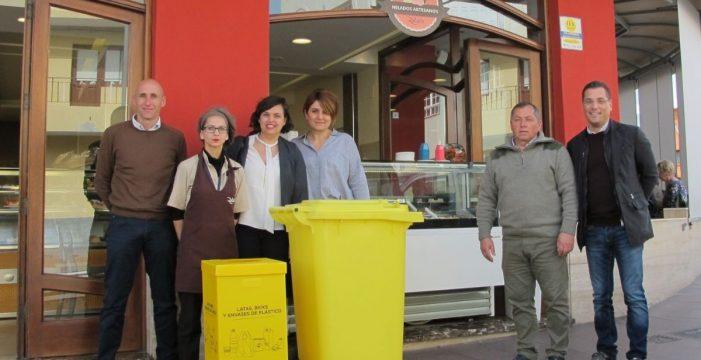 60 establecimientos empiezan a reciclar envases en sus locales