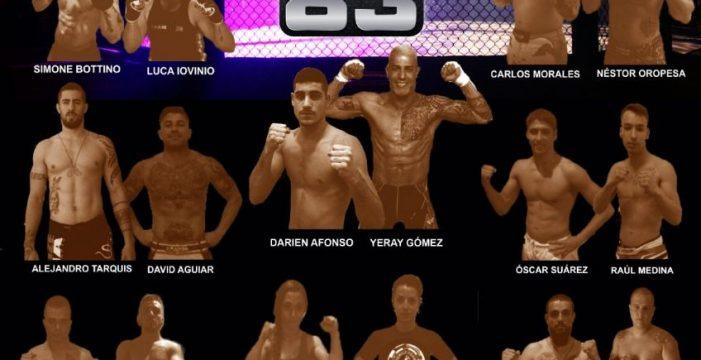 El próximo 10 de marzo se celebra el evento MMA Hombres de Honor 83 en Tenerife