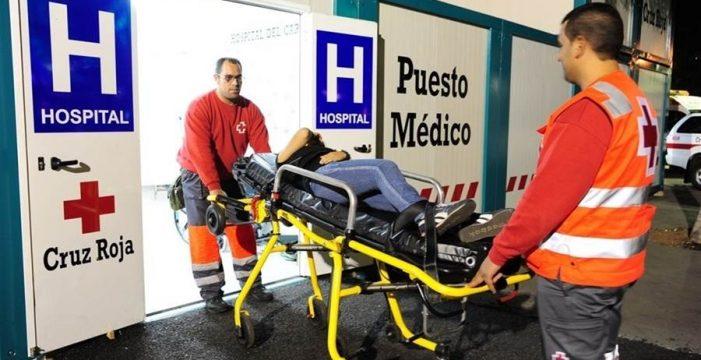 El primer día del Hospital del Carnaval: borracheras, drogas y caídas