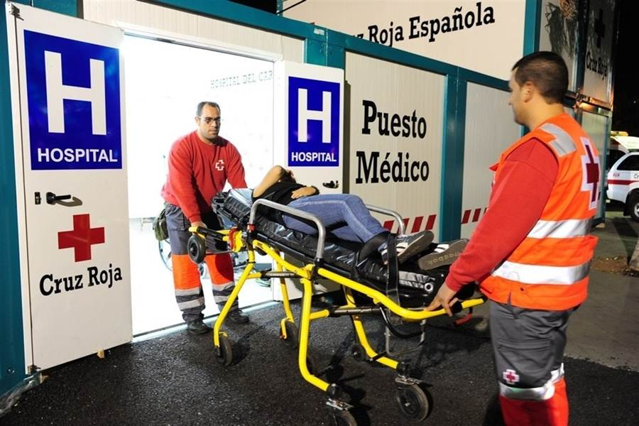 Resultado de imagen de Cruz Roja gestionará el Hospital del Carnaval de Santa Cruz de Tenerife