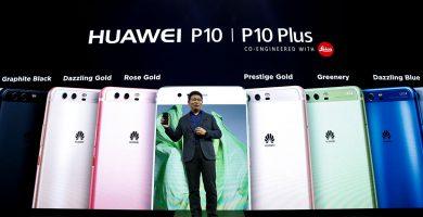 Huawei presenta los nuevos P10 y P10 Plus en el MWC