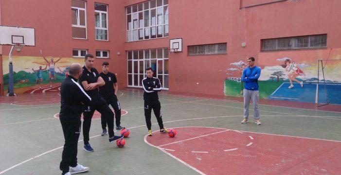 El Tenerife Iberia Toscal visitó el Colegio Mayco