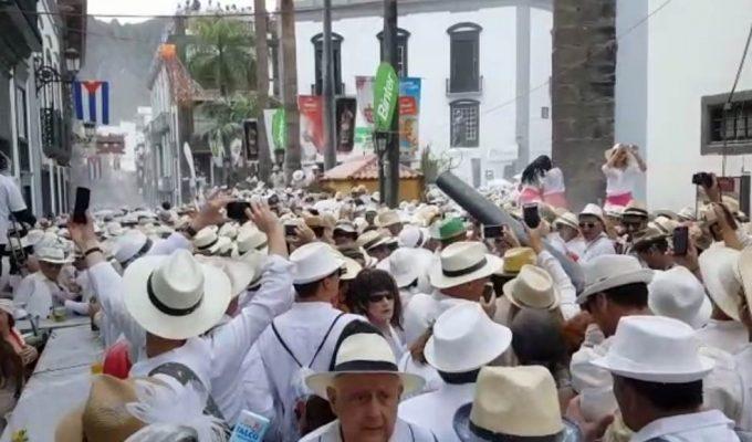 Santa Cruz de La Palma se transforma en La Habana para los Indianos