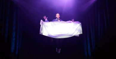 El mago Jorge Blass realizará en Tenerife el truco que vendió a Copperfield