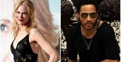 Nicole Kidman estuvo comprometida con Lenny Kravitz