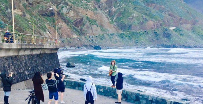 Paisajes de Tenerife en el vídeo del cantante español en Eurovisión