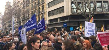 Barcelona protagoniza la mayor marcha de Europa por la acogida de refugiados