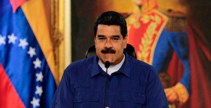 """Maduro agradece a Trump su """"apoyo al diálogo nacional"""""""
