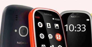 Nokia resucita el mítico 3310