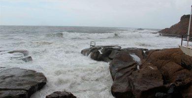 La Aemet activa el aviso amarillo en Canarias por fenómenos costeros adversos