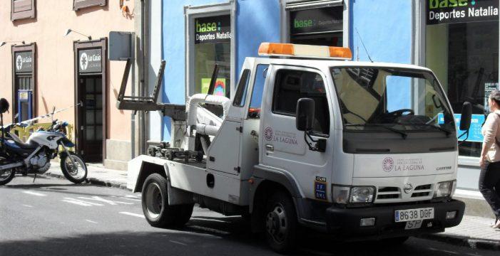La Policía detectó en 2011 casi 50 incidencias en coches del depósito de las grúas de La Laguna