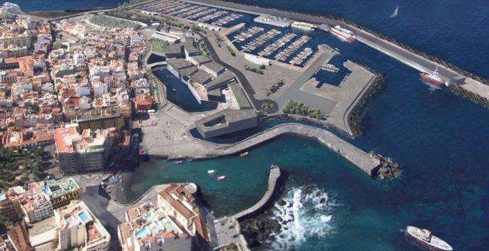 Acusan al Cabildo del nuevo retraso del muelle  del Puerto de la Cruz