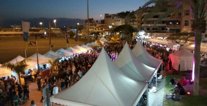 El primer Wine Festival congrega a más de 15.000 personas en Los Cristianos