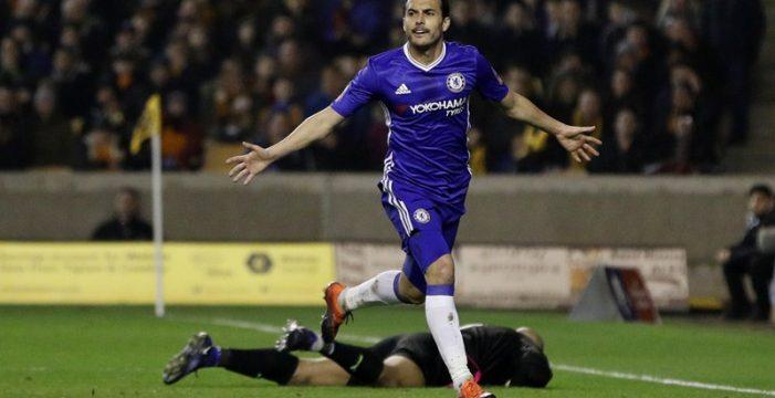 El tinerfeño Pedro vuelve a marcar con el Chelsea en Copa