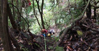 Un parapentista rescatado tras 24 horas colgado de un árbol