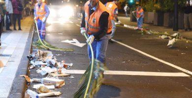 119 toneladas de basura en el primer fin de semana de Carnaval