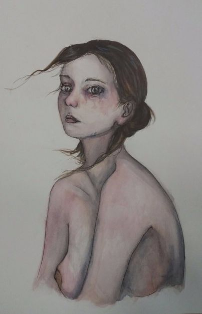 Primer premio de pintura de Secundaria