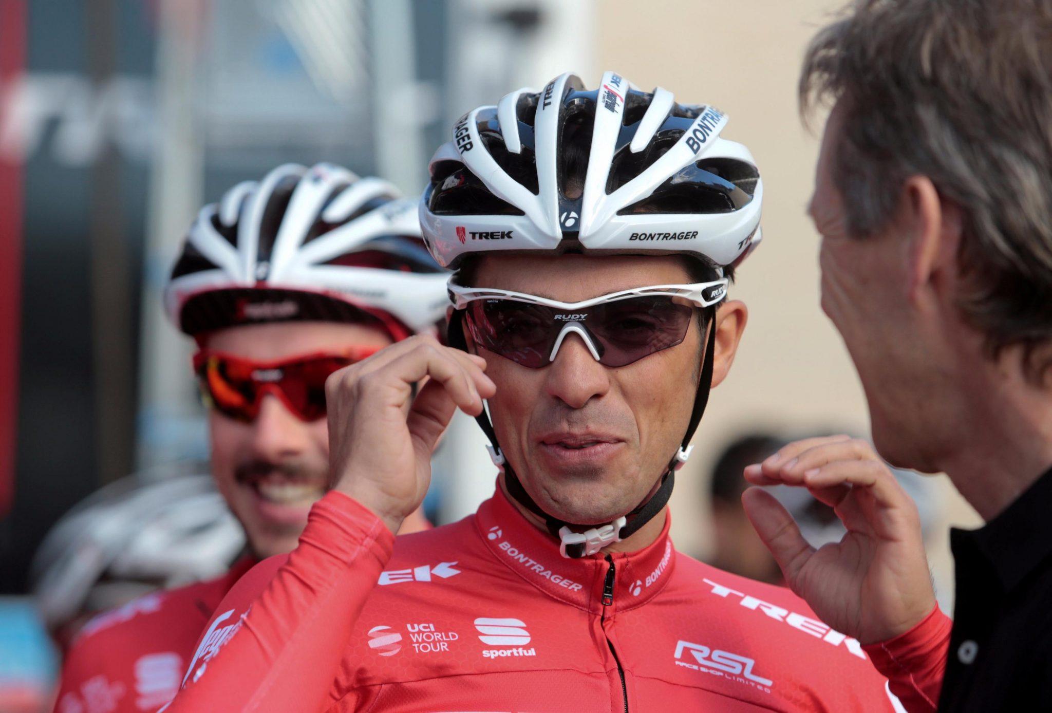 Alberto Contador durante una sesión de entrenamiento (Foto de archivo) | FOTO: REUTERS