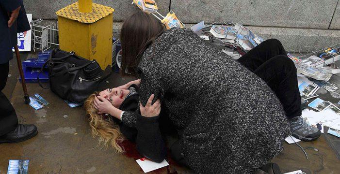 """Al menos un muerto y varios heridos en un """"incidente terrorista"""""""