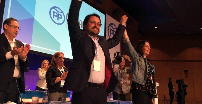 """Andrea Levy: """"Antona es la esperanza de futuro del PP canario"""""""