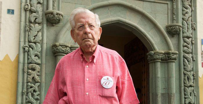 Muere a los 97 años Antonio de Bèthencourt, historiador canario de referencia