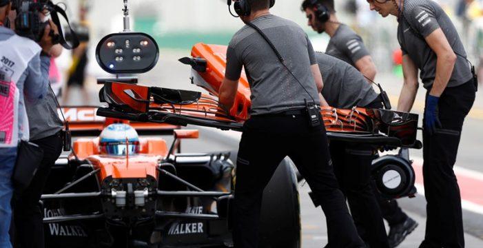 "Alonso: ""Saco un segundo a mi compañero, pero la tristeza es que soy decimotercero"""