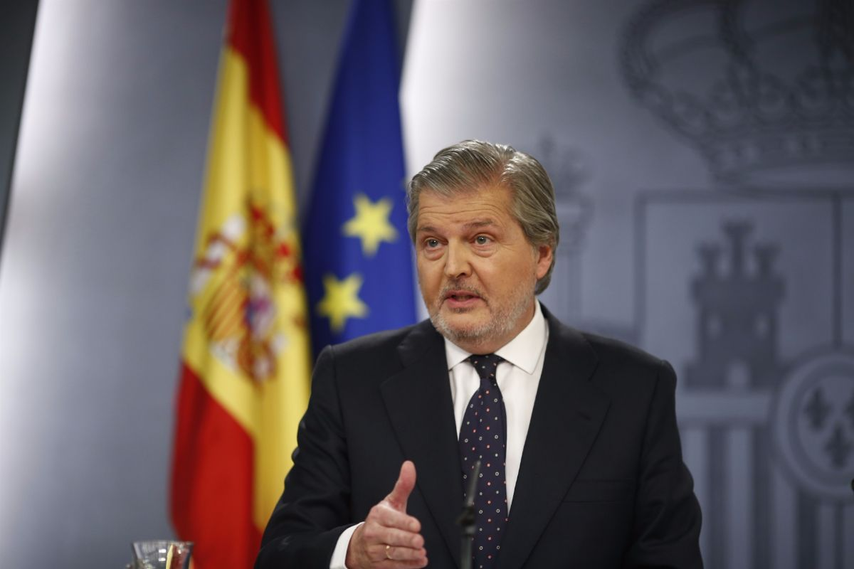 Íñigo Méndez de Vigo, portavoz del Gobierno   EUROPA PRESS