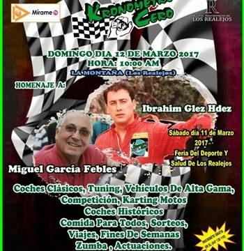 La III Fiesta del Motor de La Montaña de Los Realejos, el próximo domingo