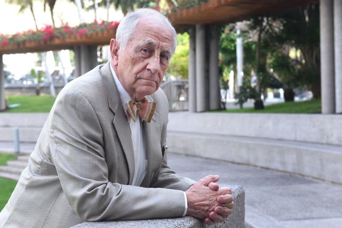 Inocencio Arias, en el Hotel Mencey. / SERGIO MÉNDEZ