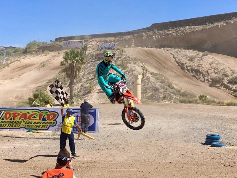 Jonay Rodriguez KTM Motocross