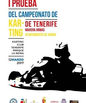 El domingo arranca el Campeonato Insular de Karting Naviera Armas Trofeo Ayuntamiento de Arona