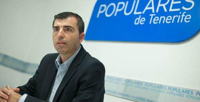 Manuel Domínguez revalida la presidencia del PP de Tenerife