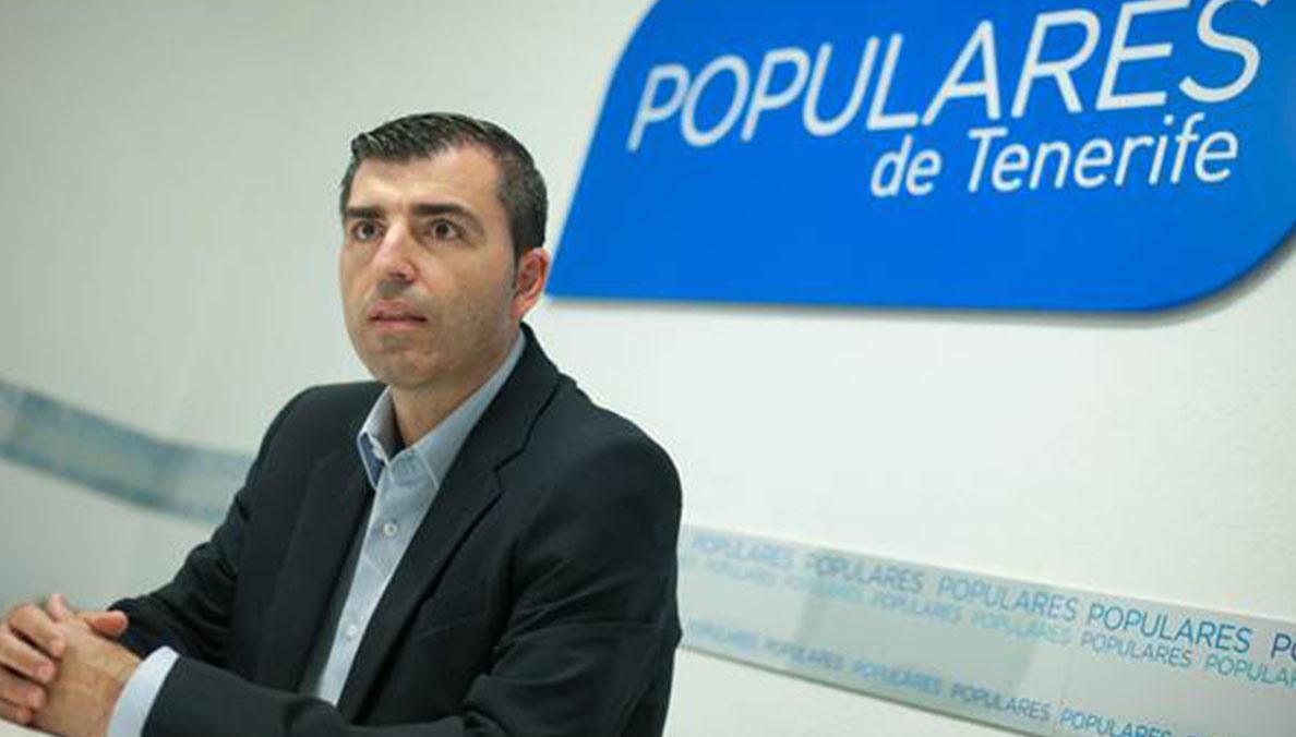 Manuel Domínguez ha sido reelegido Presidente del PP de Tenerife por amplia mayoría