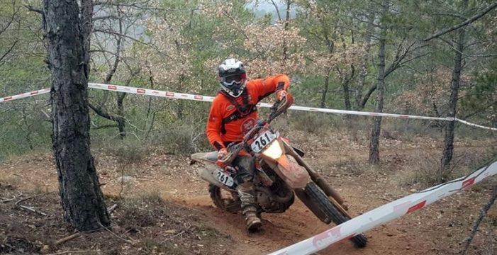 El tinerfeño Miguel de la Rosa logra el título nacional de Enduro