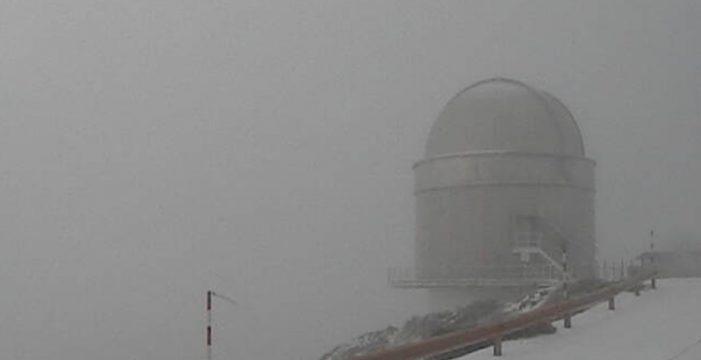 Llega la nieve y probables tormentas hoy en la provincia