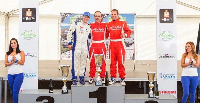 Luis Monzón y su Audi R8 LMS inscriben su nombre como vencedores en la V Subida de Betancuria