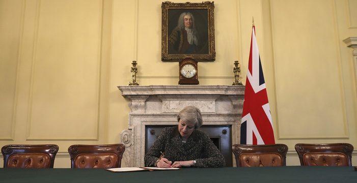 Reino Unido inicia hoy su divorcio definitivo de la Unión Europea