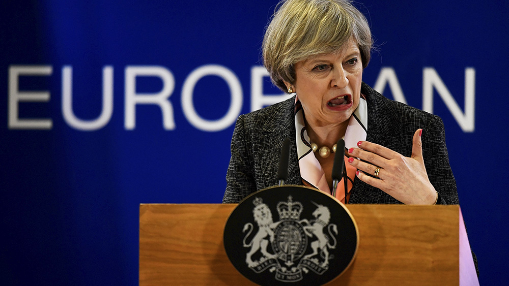 Theresa May, primera ministra de Reino Unido | REUTERS/Dylan Martinez