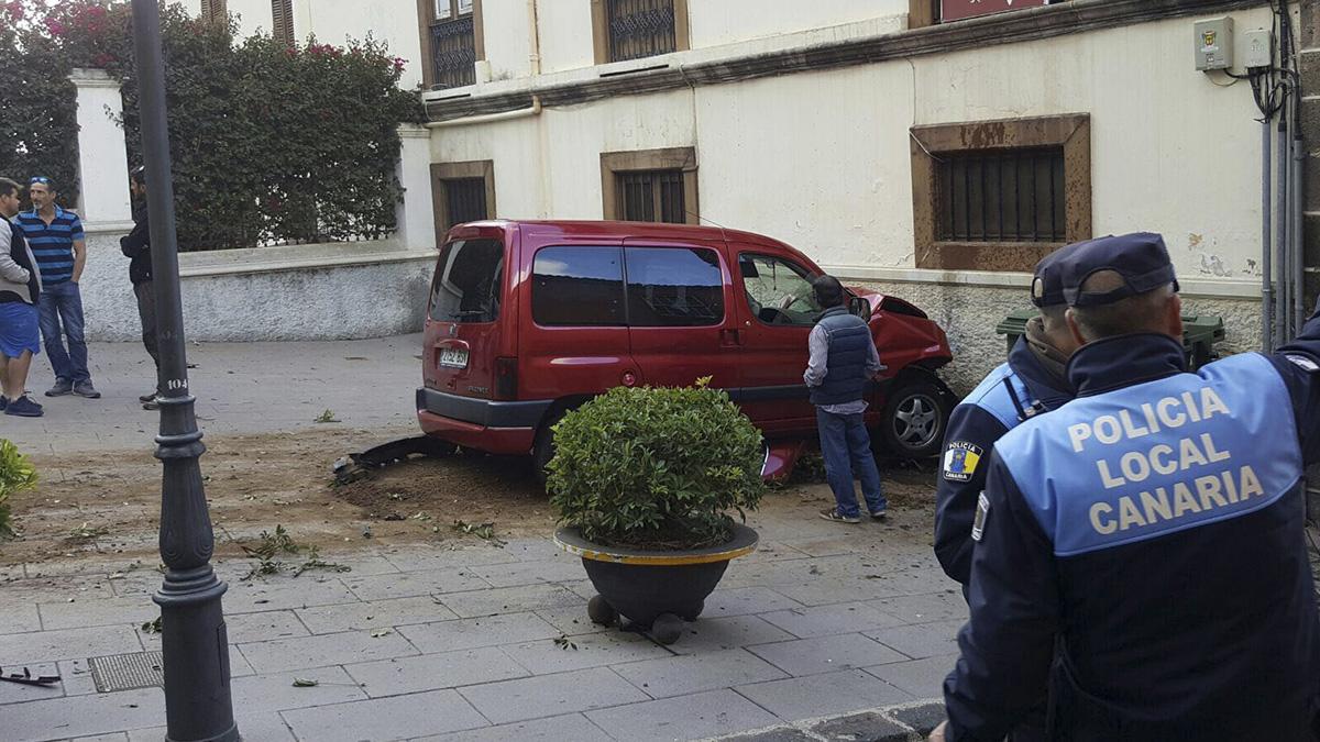 Siete heridos en un atropello en La Orotava