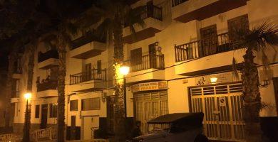 Evacúan un edificio en Valle San Lorenzo por riesgo de derrumbe
