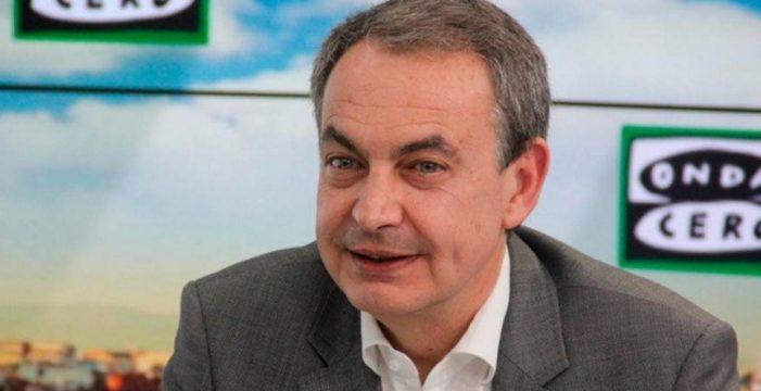 """José Luis Zapatero: """"Susana Díaz me da seguridad"""""""